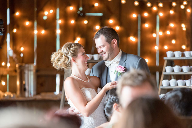 A beautiful and rustic lakeside farm wedding in Pennsylvania by Schneider Photography