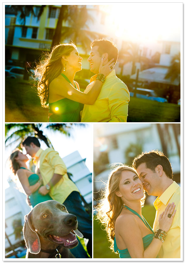 South Beach Engagement Session by Soul Echo Studios on ArtfullyWed.com