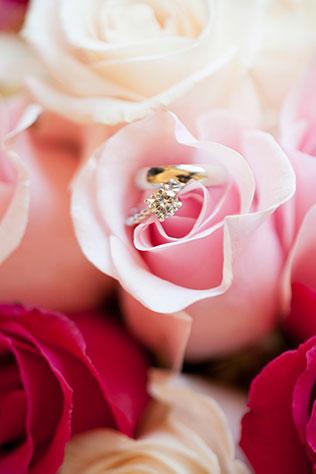 A lovely pink springtime DIY wedding at the Curtis Hall Arboretum   Sheronda Seawright Photography: http://www.sherondaseawrightphotography.com