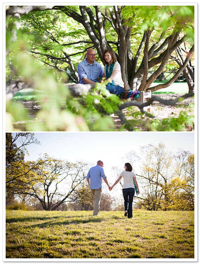 Cylburn Arboretum Engagement by Susannah Storch Photography on ArtfullyWed.com
