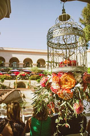 A vintage-styled peach and aqua restaurant wedding in San Diego   Studio Sequoia: http://studiosequoia.com