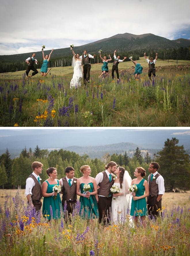 Arizona Snowbowl Wedding by Tangled Lilac Photography on ArtfullyWed.com