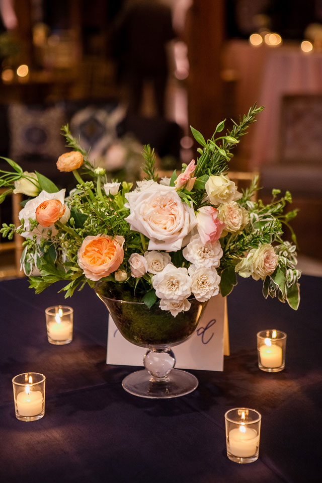 A stylish Southern wedding at an urban Nashville venue with a classic neutral palette by The Collection