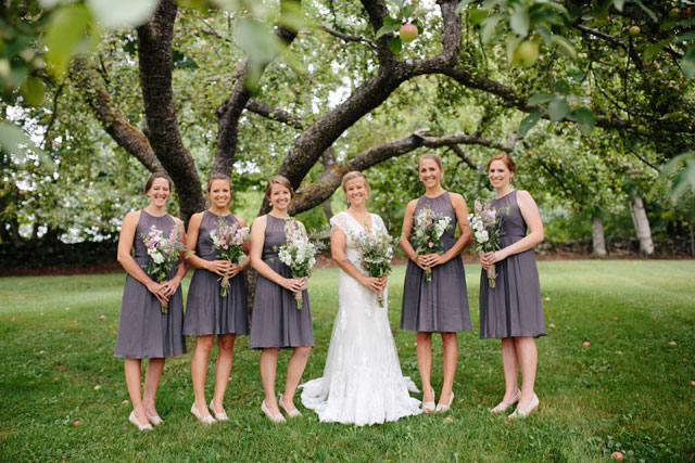 A beautiful backyard Woodstock farm wedding with an airy palette by The Light + Color
