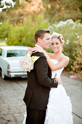 A detailed, handmade ranch wedding with a designer theme // photos by The Youngrens: http://www.theyoungrens.com || see more on https://blog.nearlynewlywed.com