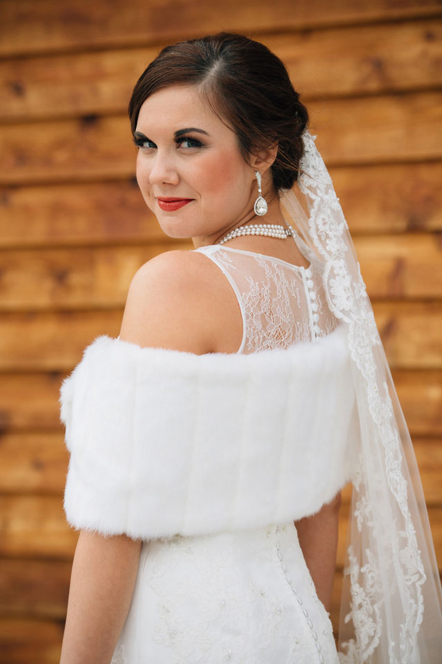 A rustic winter wedding blending Indian culture and Christian faith   Traci and Troy: http://www.traciandtroy.com