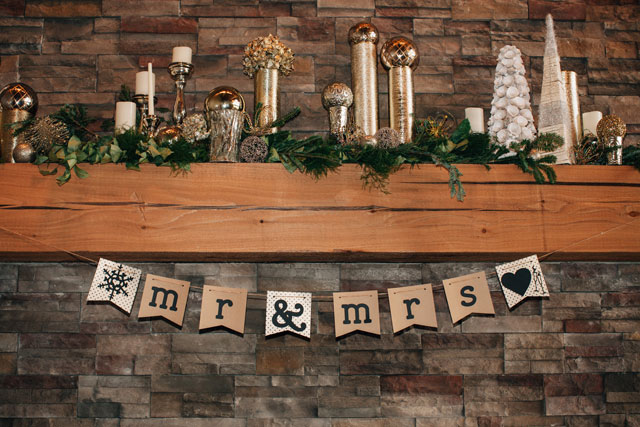 A rustic winter wedding blending Indian culture and Christian faith | Traci and Troy: http://www.traciandtroy.com