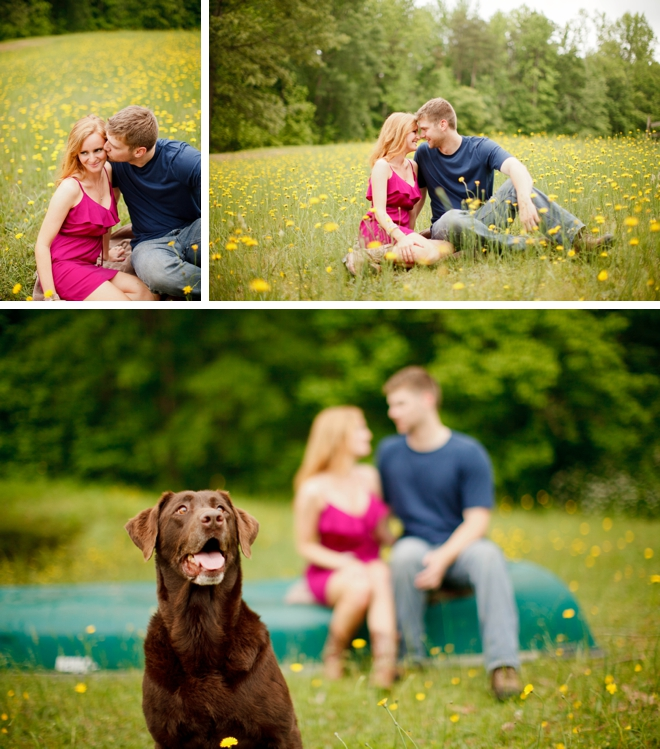Canoeing Engagement Session by V.A. Photography