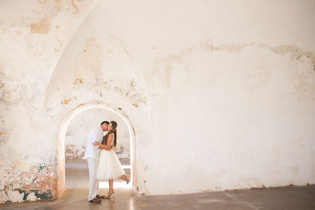 A two-part engagement session in Puerto Rico and Miami | Vanessa Velez Photography: http://www.vanessavelezphotography.com