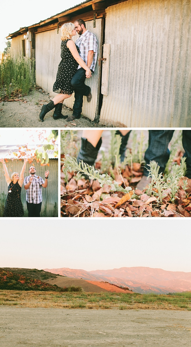 A Little Bit Country Engagement by Wai Reyes Photography on ArtfullyWed.com