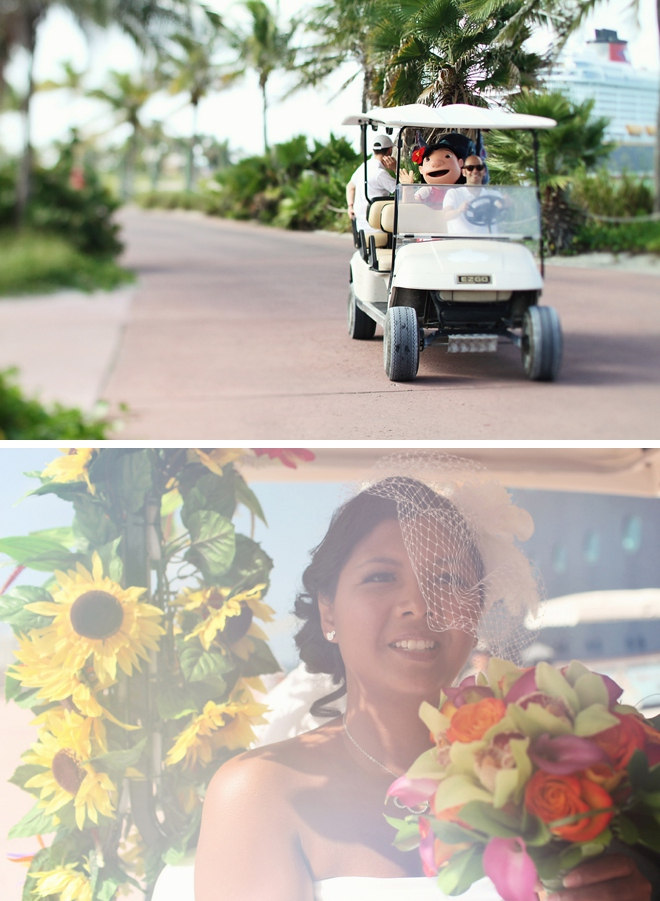 Disney Cruise Line Wedding by We Call This Love on ArtfullyWed.com