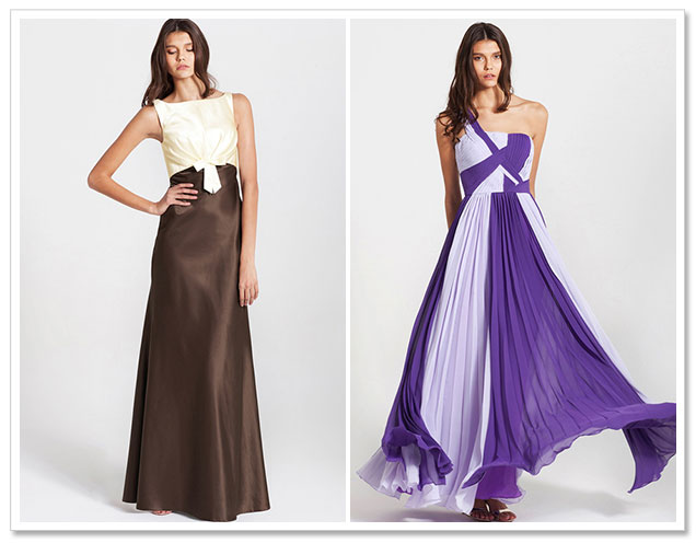Custom Color Bridesmaid Dresses with For Her and For Him