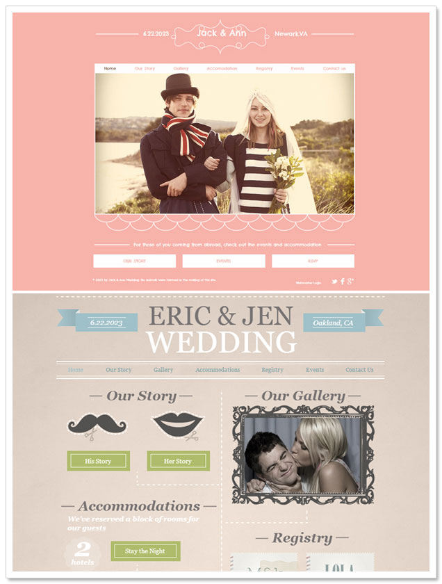 Build Your Wedding Website with Wix